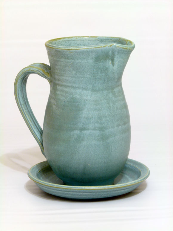 Jug with plate