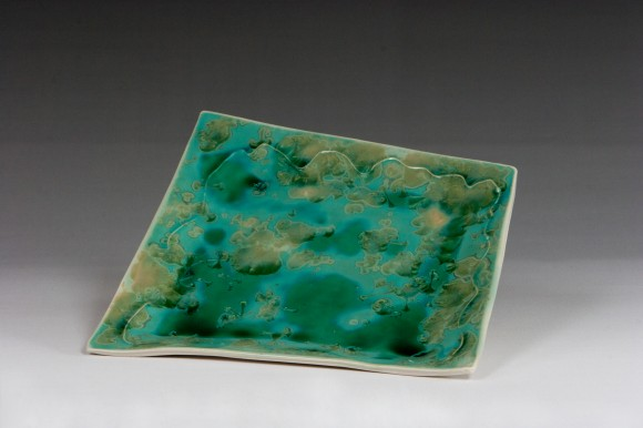 Handbuilt Crystalline Platter