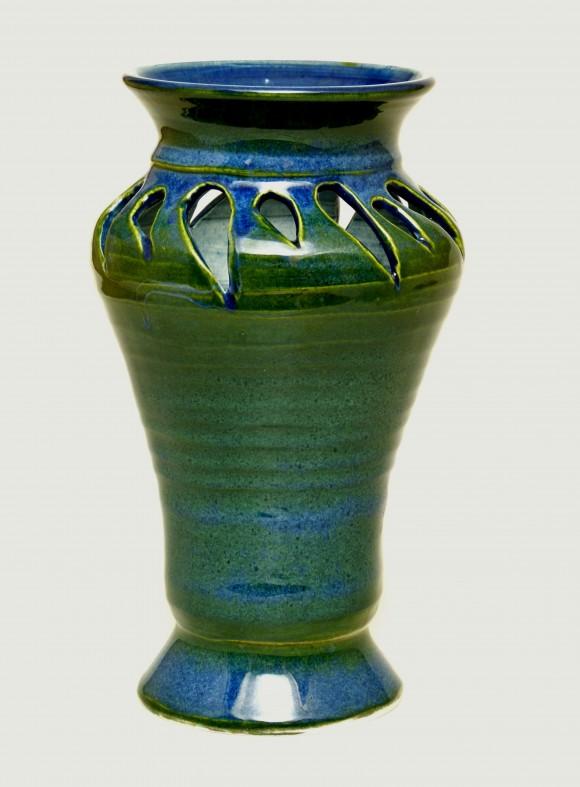 Sapphire Vase