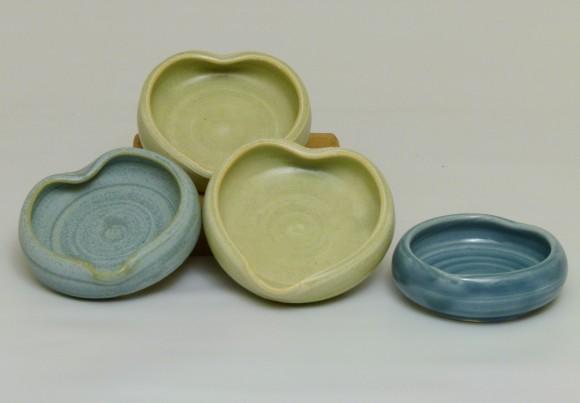 Tiny Heart Dishes